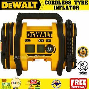 DeWalt Tyre Inflator 18V Li-ion Cordless 159PSI Air Inflation Pressure Skin Only