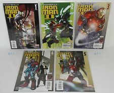 Marvel: Ultimate Iron Man 2: #s 1-5 (Full Lot) NEW, Orson S. Card, Pasqual Ferry