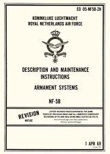 NORTHROP NF-5B / ARMAMENT SYSTEMS / DESCRIPTION AND MAINTENANCE