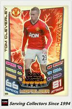 2012-13 Match Attax Extra Man Of Match Foil Card M8 Tom Cleverley (Man Utd)