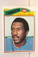 1977 Topps #167 Charlie Joiner HOF San Diego Chargers / Grambling (A)