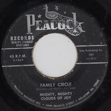 The Mighty Clouds Of Joy 45rpm Peacock 1869 Black Soul Gospel Family Circle