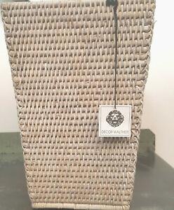 Decor Walther Papierkorb konisch beige Sonderpreis NEU UVP 69,00