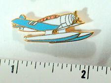 Seaplane  Aircraft Airplane Pin , Beautiful Cloisonne, (#013b)(**)