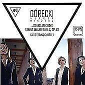 Dafo String Quartet-Gorecki - String Quartet No. 3, Op. 67 (US IMPORT) CD NEW