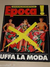 EPOCA=1989/1998=CARMEN LODERUS=FALCONARA=PIERRE ROSENBERG=NERIO NESI=LONGI V.=