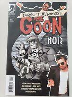 GOON: NOIR #1 (2006) DARK HORSE COMICS AUTOGRAPHED by ERIC POWELL! COA!