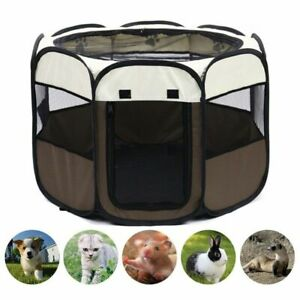 Portable Folding Pet Tent Dog House For Cat Playpen Puppy Tent Outdoor Big Fun