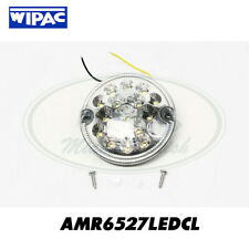 LAND ROVER ROUND AMBER INDICATOR TURN LED LIGHT LAMP DEFENDER AMR6527LEDCL WIPAC