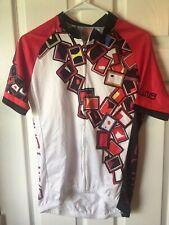 Cheji Cycling jersey - women's XL - White/Red