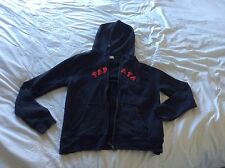 Ladies Papaya Sport navy blue sweatshirt hoodie M Medium