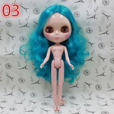 """Takara 12"""" Neo Blythe Curly Hair Nude Doll  from Factory TBY127"""