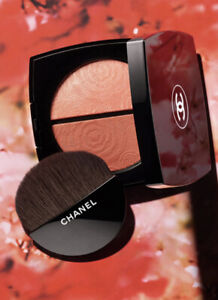 Chanel Fleurs De Printemps Blush And Highlighter Duo Powder New LTD Spring 2021