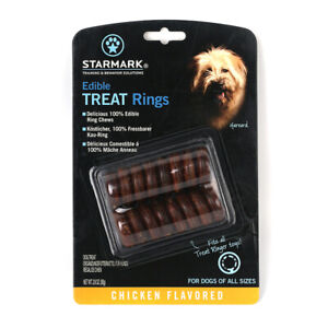 Starmark Design-Edible TREAT Rings Delicious 100% Edible Treat Ring Chews