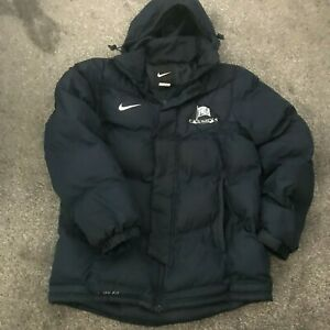 NIKE THERMA-FIT QUILTED BLUE JACKET USED SIZE M MEDIUM