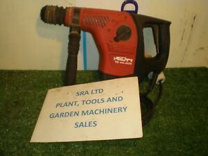 HILTI TE40 ROTARY HAMMER DRILL 110 VOLT SDS CHUCK 3 MODES  VAT INCLUDED SRA1