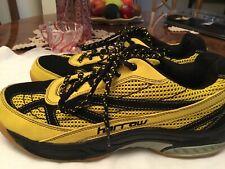Harrow Sneak Court Squash Badminton Tennis Yellow Shoes Womens Size 8