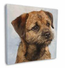 "Border Terrier 12""x12"" Wall Art Canvas Decor, Picture Print, AD-BT2-C12"