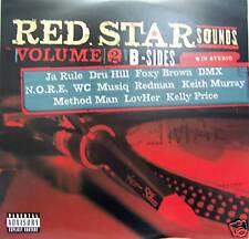 Musiq - Foxy Brown - Black Ice - DMX - RED STAR SOUNDS Vol. 2 - B-SIDES 2 LP -NM