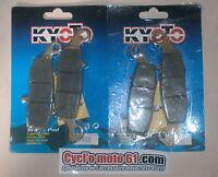 2 jeux Plaquettes de frein avant Kawsaki Z 750 2004 2005 2006 (S1352/S1435)