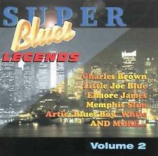 New: Blues Legends, Rush, Giles, Jame: Super Blues Legends Vol 02  Audio Cassett
