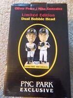Oliver Perez/Mike Gonzalez *Pittsburgh Pirates Greats* Bobblehead NEW in Box SGA