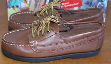 Boys Buster Brown Soft Tan Docksider Shoes Infant Boys Size 6 1/2 M