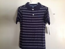 Little Boys SZ M 5-6 Nautica Polo Navy w White, Royal Insignia NWT half price