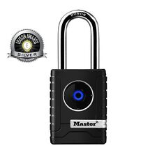Master Lock Bluetooth Outdoor Smart Padlock 4401DLH Shackle iOS,Android