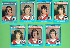 #D282. #10. 7 1980 SCANLENS SOUTH MELBOURNE  VFL AUSTRALIAN RULES FOOTBALL CARDS