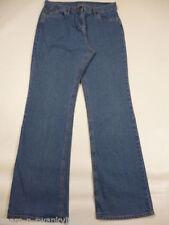Denim Machine Washable Plus Size Boot Cut Jeans for Women