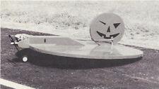 Jack-O-Lantern Sport Airplane Plans, Its the Great Pumpkin Charlie Brown!