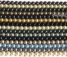 25 8mm Swarovski Crystal Pearls: Choose your color(s) at the item description