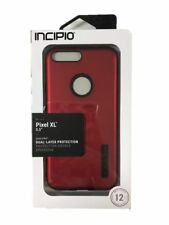 Incipio DualPro Protection Case Cover for Google Pixel XL 5.5'' Red/Black NEW