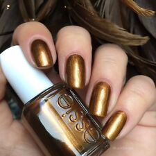 Essie Fall LEGGY LEGEND Bronze Gold Metallic Shimmer Nail Polish Lacquer .46oz