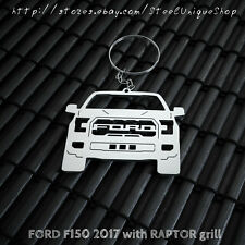 Ford F150 with Raptor grill 2017 Keychain