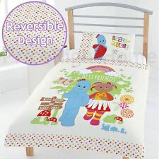 OFFICIAL IN THE NIGHT GARDEN BEST FRIENDS JUNIOR TODDLER DUVET COVER SET