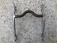 """REINSMAN #640 Junior Sweet Iron Mouth Cutting Horse Bit ~ Medium Port ~ 5"""""""