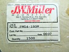 Pm54 180m Jw Miller Fixed Power Inductors 18uh 20 123a 10 Pc Lot