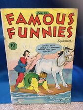 Famous Funnies #134 Eastern Color 1945 Golden Age Comic Book Buck Rogers