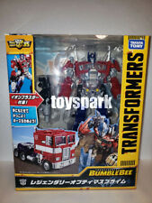 Takara Tomy Transformers Bb02 Movie 6 Bumblebee Legendary Optimus Prime in Stock