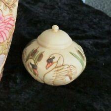 Harmony Kingdom Jardinia Swansong Trinket Box Pot c2003 New Wob