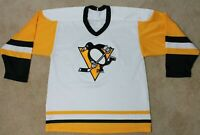 CCM Pittsburgh Penguins Hockey Jersey - Mens Medium Vintage
