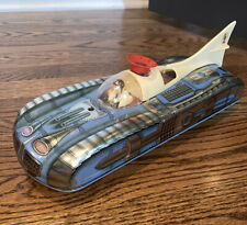 Vintage Rare Tin Toy Space Car Rocket Battery Operated