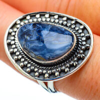 Large Pietersite 925 Sterling Silver Ring Size 8.25 Ana Co Jewelry R33346F