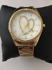 DKNY Gold Heart Watch - Beautiful! - NWT in Box with Booklet