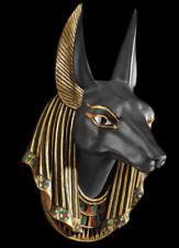 Egyptian God Anubis Head Wall Sculpture