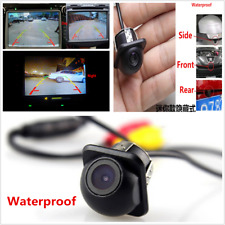 12V Car Rear Side Front Mirror CCD Front Backup Parking Reversing Camera Cam Kit