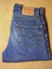"""Mens LEVIS 550 Blue Stonewashed 30""""W 32""""L Vintage Denim Jeans 550's"""