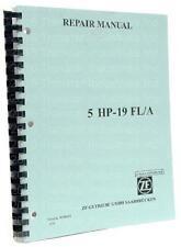 Repair Manual, Zf5Hp19Fl/Fla